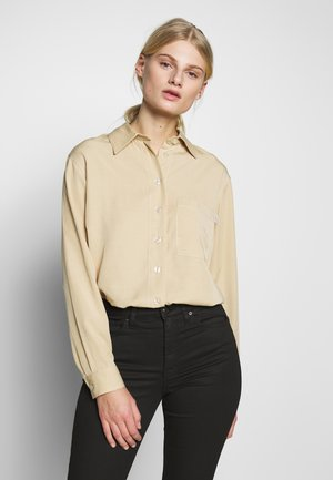 LEE - Button-down blouse - yellow sand