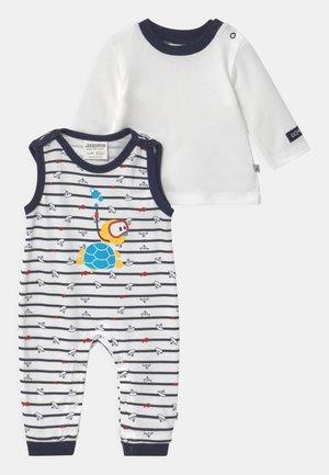 OCEAN CHILD SET - Top sdlouhým rukávem - weiß