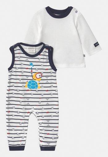 OCEAN CHILD SET - Long sleeved top - weiß