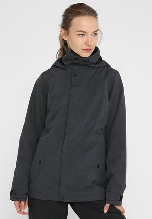 JET SET - Snowboardová bunda - true black heather