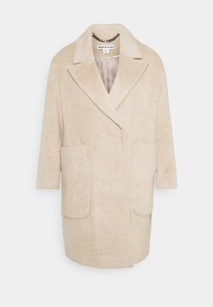 DRAWN COCCON COAT - Classic coat - oatmeal