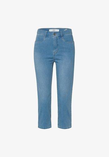 STYLE MARY C - Denim shorts - used summer blue