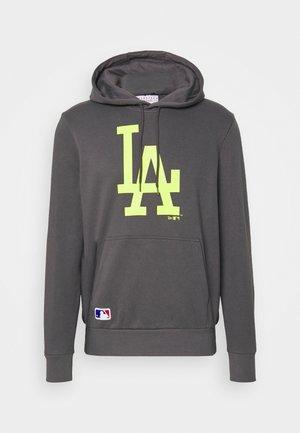 MLB LOS ANGELES DODGERS SEASONAL TEAM LOGO HOODY - Sweatshirt - dark grey