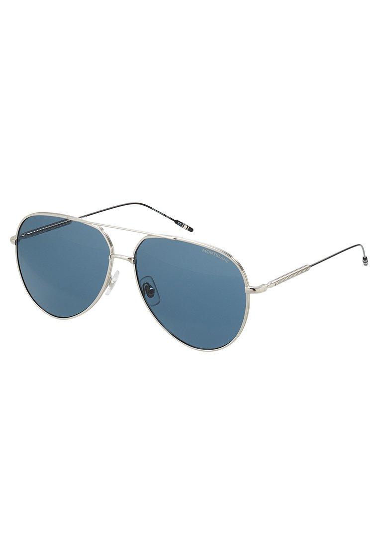 Mont Blanc Solbriller - silver-coloured/blue/sølv Cm1Dj6Y4ywZ1yUP