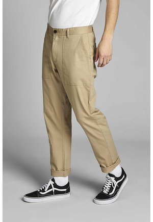 AKJOHN WORKER - Cargo trousers - incense