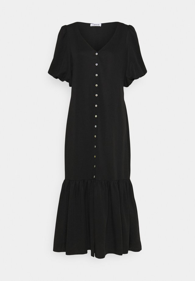 ISABELA DRESS - Maxi-jurk - schwarz
