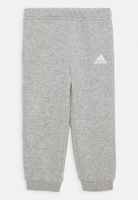 adidas Performance - UNISEX - Tuta - green/white/medium grey heather