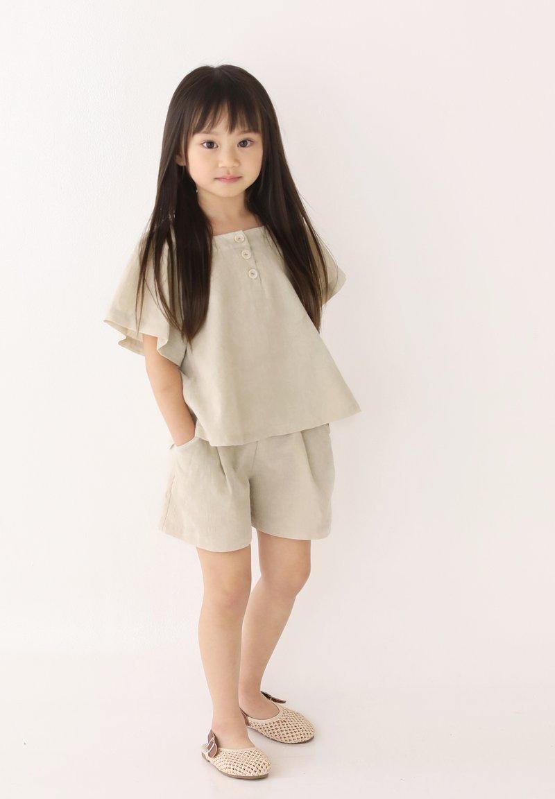 Rora - SET - Shorts - beige