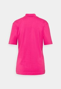 Calvin Klein Jeans - MICRO BRANDING STRETCH MOCK NECK - Print T-shirt - party pink - 1