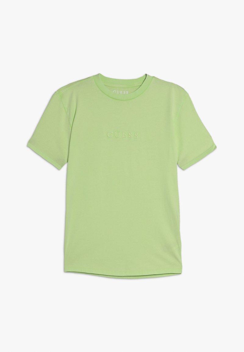 Guess - JUNIOR UNISEX OVERSIZE  - Basic T-shirt - vert/lime squeeze