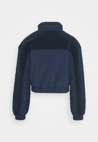 Tommy Jeans - MIX MEDIA JACKET - Light jacket - twilight navy - 1