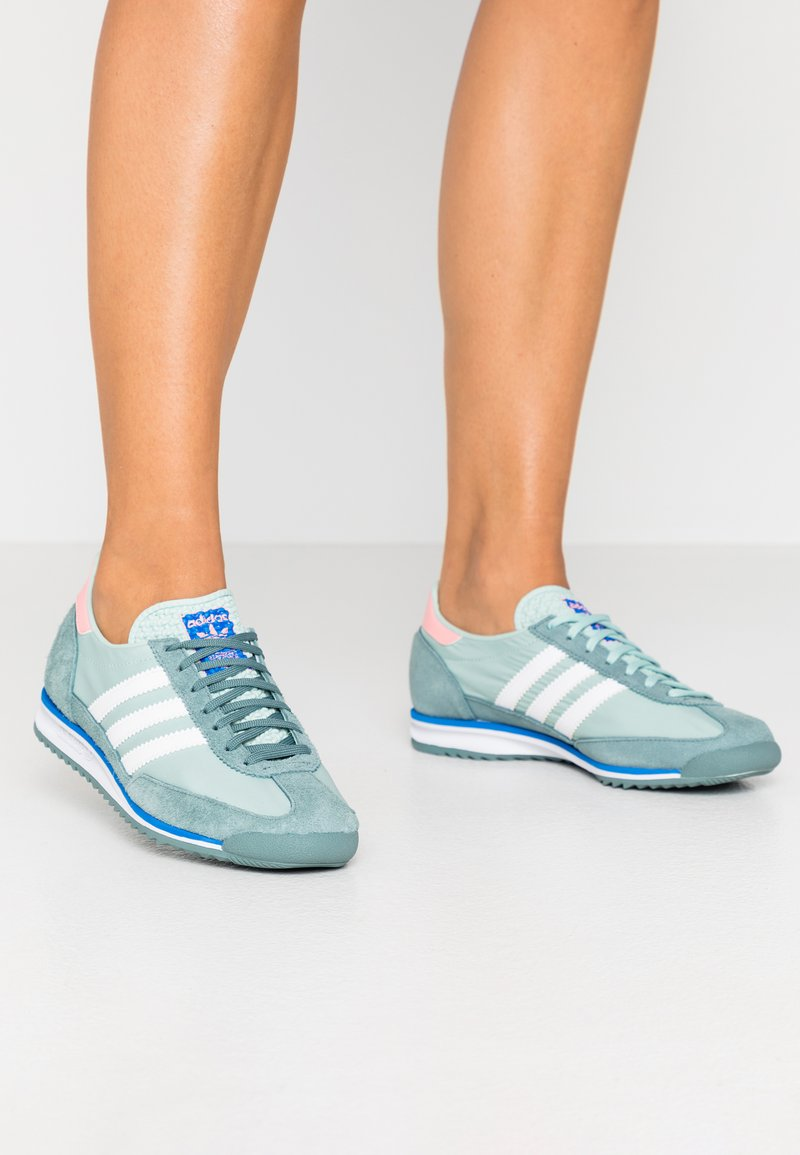 adidas Originals - Trainers - green tint/footwear white/raw green