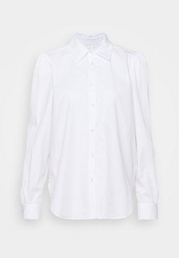 Button-down blouse - white light