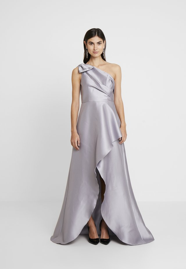 MIKADO LONG DRESS - Occasion wear - silver