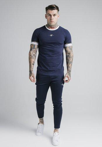 DELUXE RINGER - T-shirt med print - navy