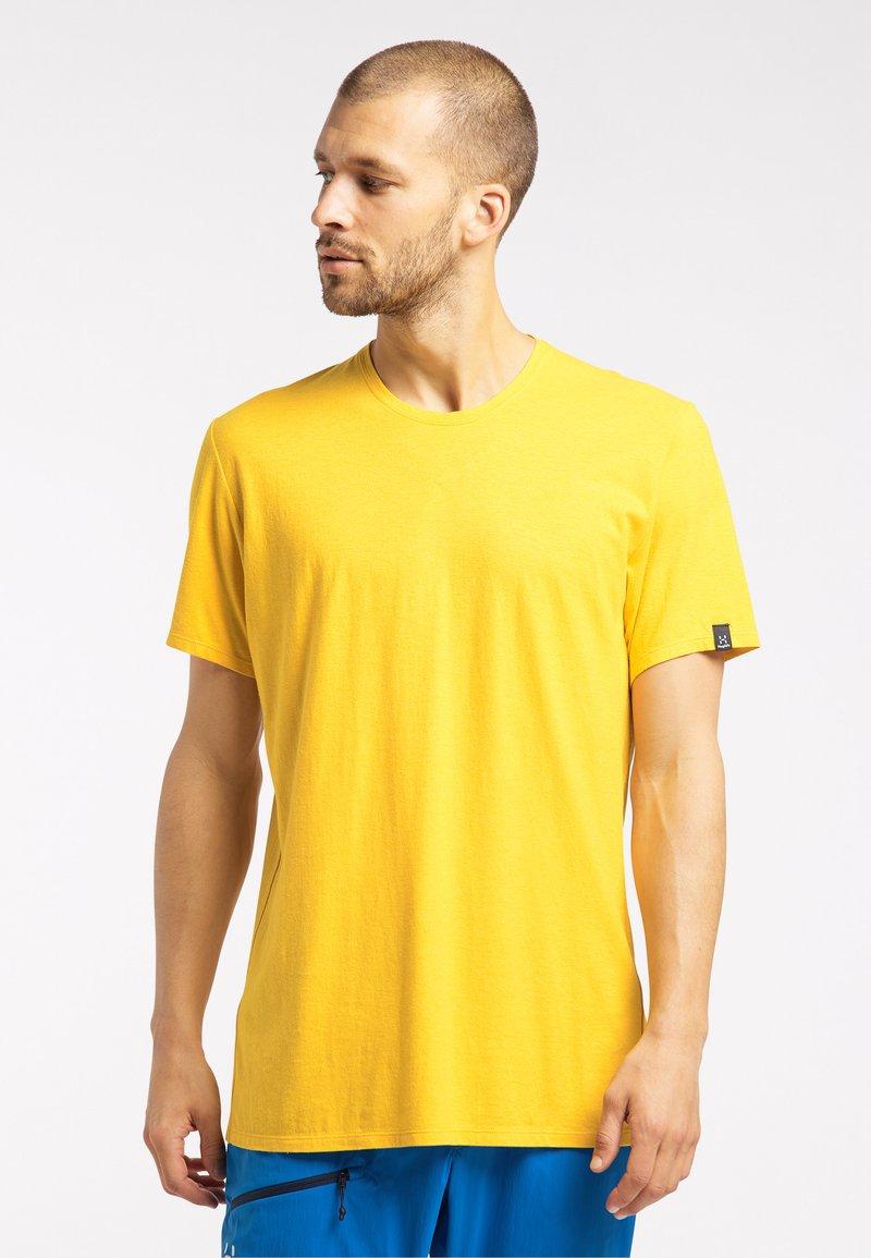 Haglöfs - Basic T-shirt - pumpkin yellow