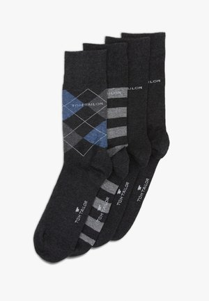 SOCKS GRAPHICS 4 PACK - Socks - anthracite