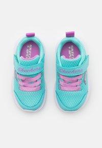 Skechers - DREAMY DANCER - Trainers - aqua/purple - 3