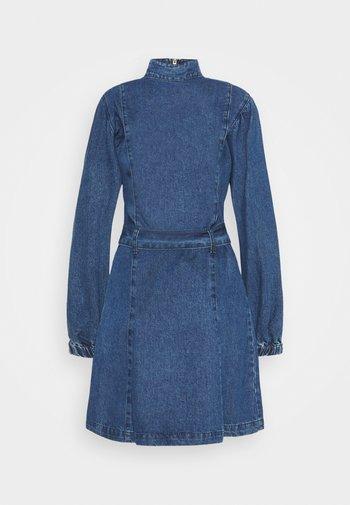LADIES DRESS  - Denim dress - dark stonewash