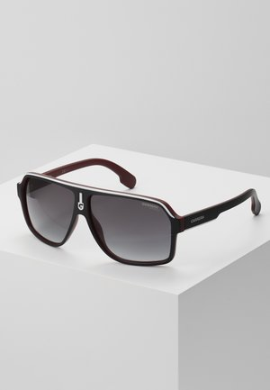 Sonnenbrille - black/dark red