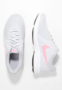 Nike Performance - WMNS REVOLUTION 4 EU - Neutral running shoes - pure platinum/sunset pulse/wolf grey/black - 1