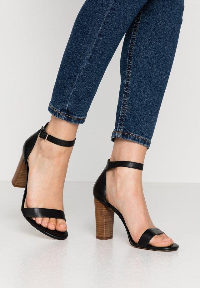 JERAYCLYAD - Sandály na vysokém podpatku - black