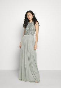Lace & Beads Tall - BEATRICE MAXI  - Společenské šaty - sage - 0
