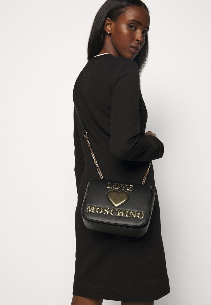 Love Moschino - BORSA - Across body bag - black