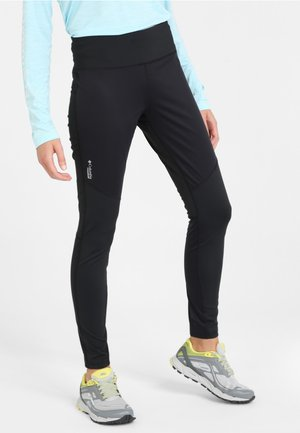 Titan Wind Block Tight I - Legginsy - black