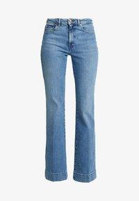 Wrangler - Flared Jeans - blue noise - 4