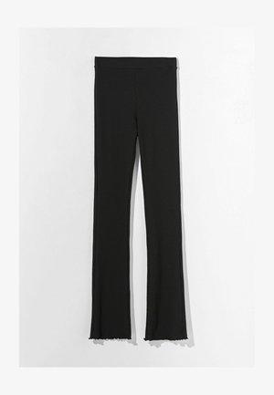 MIT PATENTMUSTER  - Kalhoty - black