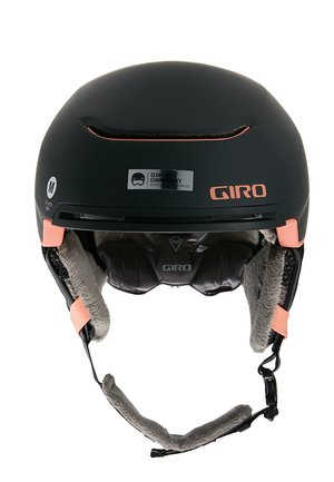 TERRA MIPS - Casco - matte black/peach
