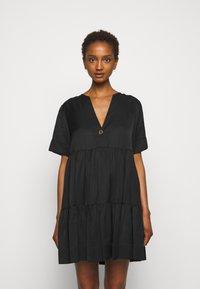 Claudie Pierlot - RIGOLE - Day dress - noir - 0