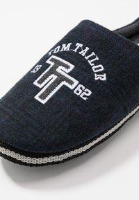 TOM TAILOR - Pantuflas - navy - 5