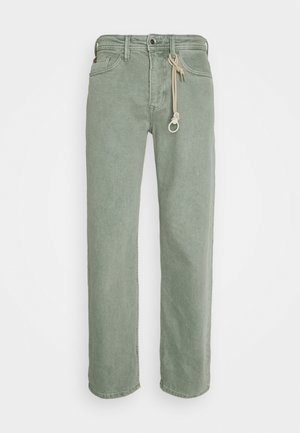 Trousers - greyish shadow olive