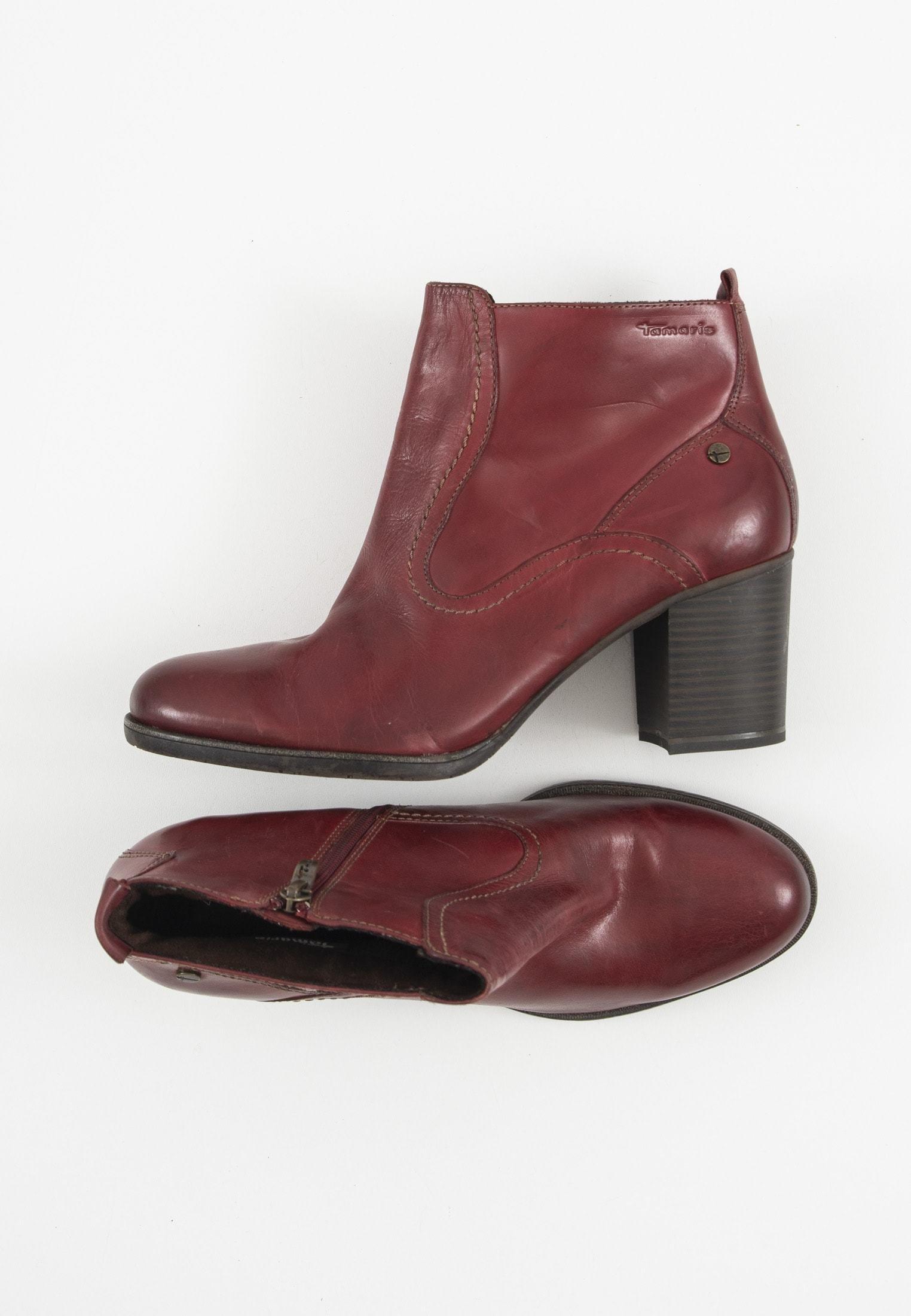 Laarzen met hoge hak rot