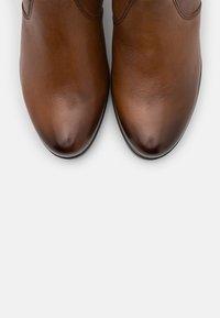 Gabor Comfort - Platform ankle boots - cognac - 5