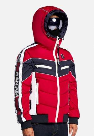 CHEVRON - Gewatteerde jas - red