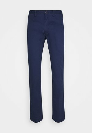 SLIM FIT BEDFORD PANT - Stoffhose - cruise navy