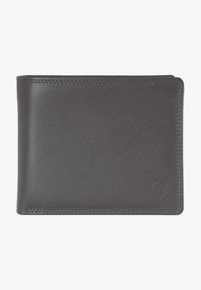 Wallet - grau (genarbt)