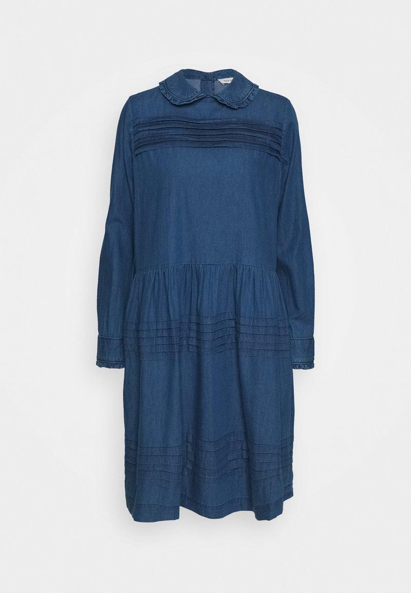 Six Ames - ERIKA - Robe en jean - blue denim