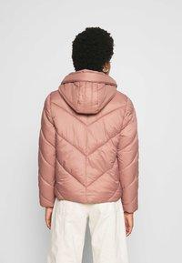 Saint Tropez - CATJASZ SHORT JACKET - Winter jacket - burlwood - 2