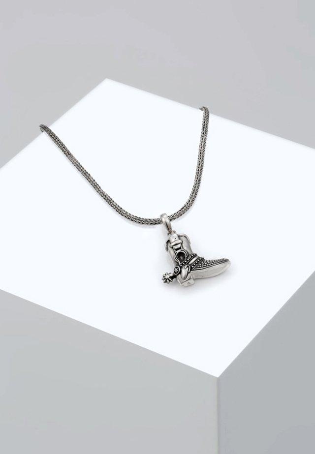 COWBOY - Halskæder - silver-cooured