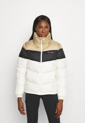 PUFFECT™ COLOR BLOCKED JACKET - Winter jacket - chalk/black/beach