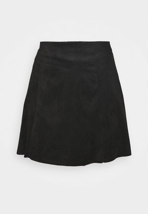 ONLSARAH NEOLINE SKIRT  - Mini skirt - black