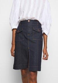 See by Chloé - Denim skirt - royal navy - 5