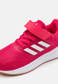 adidas Performance - RUNFALCON I UNISEX - Neutral running shoes - power pink/footwear white - 5