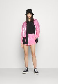 Nike Sportswear - AIR SHEEN - Summer jacket - pink glow/black - 1