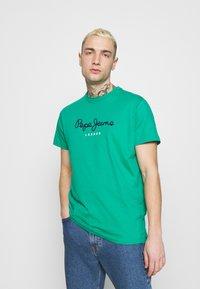 Pepe Jeans - EGGO  - T-shirt med print - emerald - 0