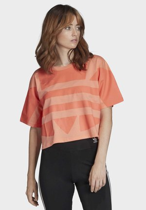 LARGE LOGO T-SHIRT - T-shirt print - orange